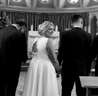 Bride groom wedding photography photographer Northamptonshire